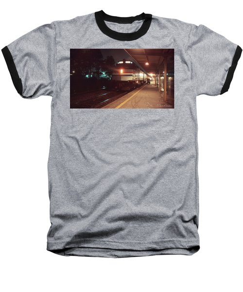 Rainy New Year's Eve Baseball T-Shirt