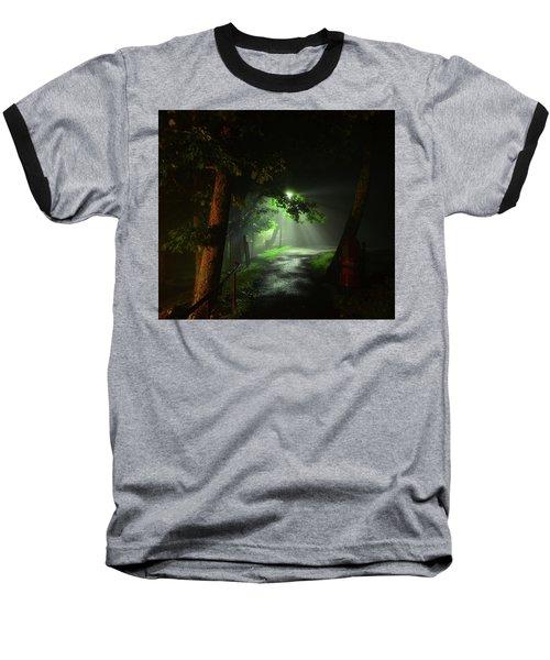 Rainy Night Baseball T-Shirt