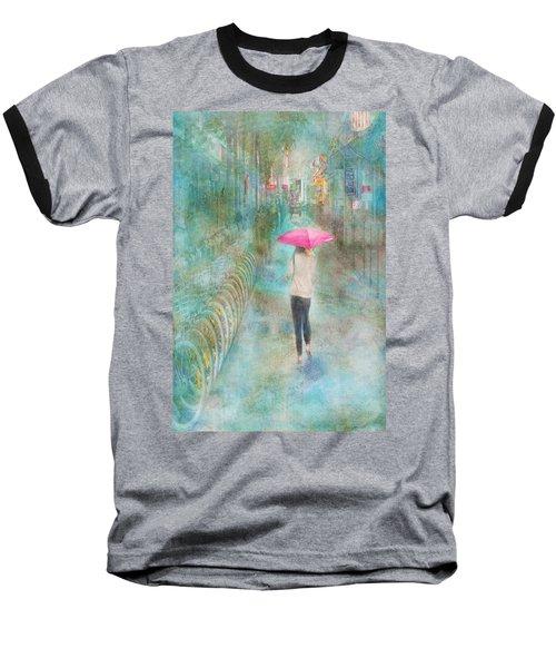 Rainy In Paris 3 Baseball T-Shirt