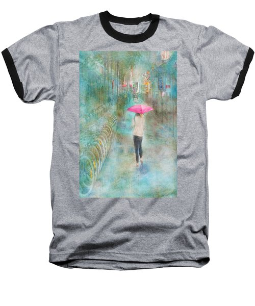 Rainy In Paris 3 Baseball T-Shirt