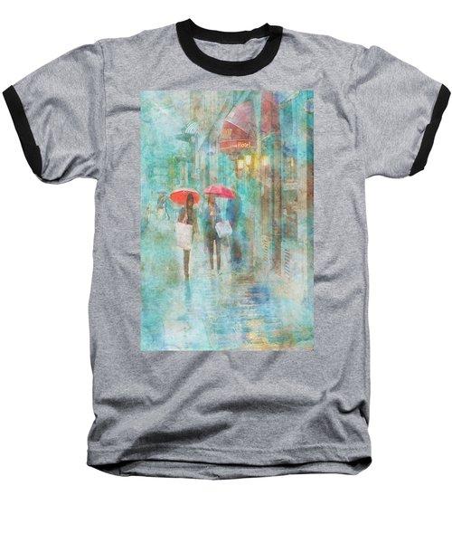 Rainy In Paris 4 Baseball T-Shirt