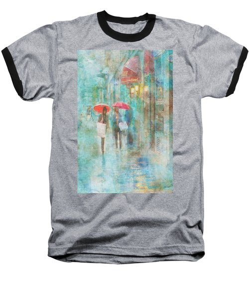 Rainy In Paris 4 Baseball T-Shirt
