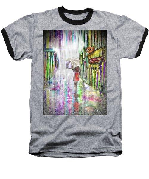 Rainy Paris Day Baseball T-Shirt