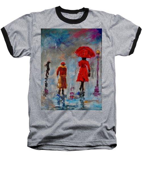 Rainy Spring Day Baseball T-Shirt