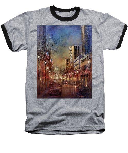 Raleigh Light Baseball T-Shirt
