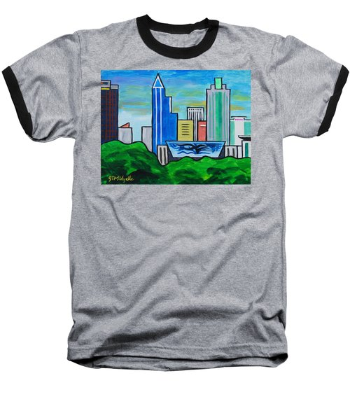 Raleigh Skyline 3 Baseball T-Shirt