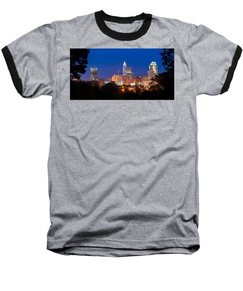 Raleigh Skyline Baseball T-Shirt
