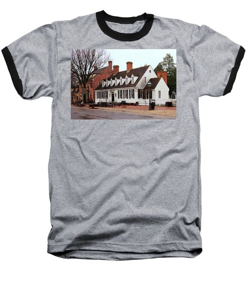 Raleigh Tavern 2 Baseball T-Shirt by Lou Ford