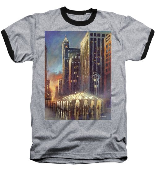 Raleigh With Symphony Tent Baseball T-Shirt