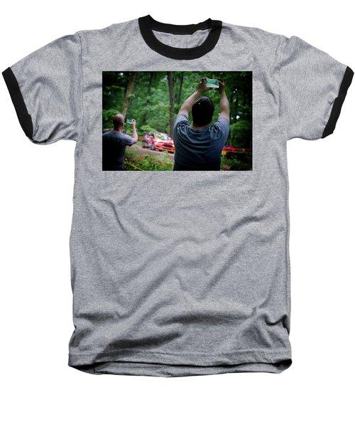 Rally Fan Capture Baseball T-Shirt