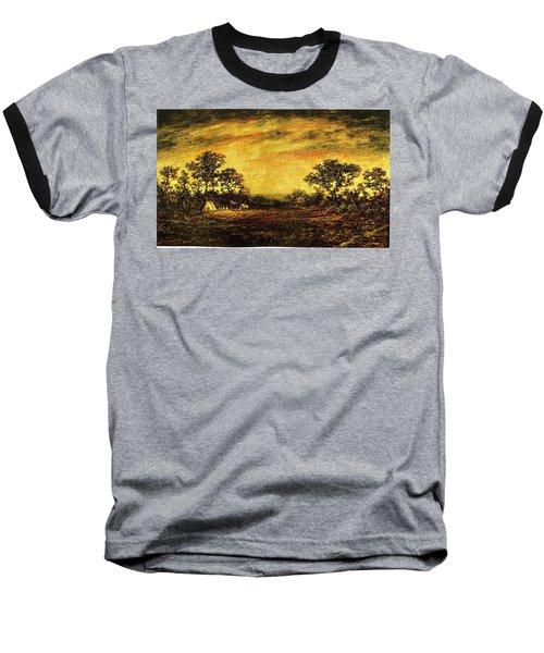 Ralph Blakelock, Indian Encampment Baseball T-Shirt