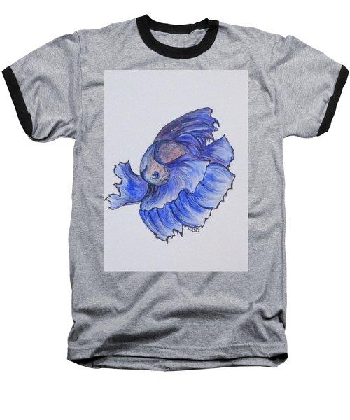 Ralphi, Betta Fish Baseball T-Shirt