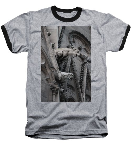 Ram And Eagle Griffon Notre Dame Baseball T-Shirt