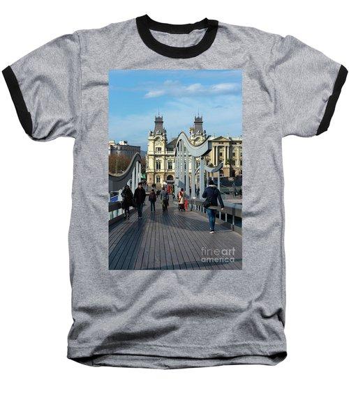 Rambla Del Mar Footbridge Baseball T-Shirt
