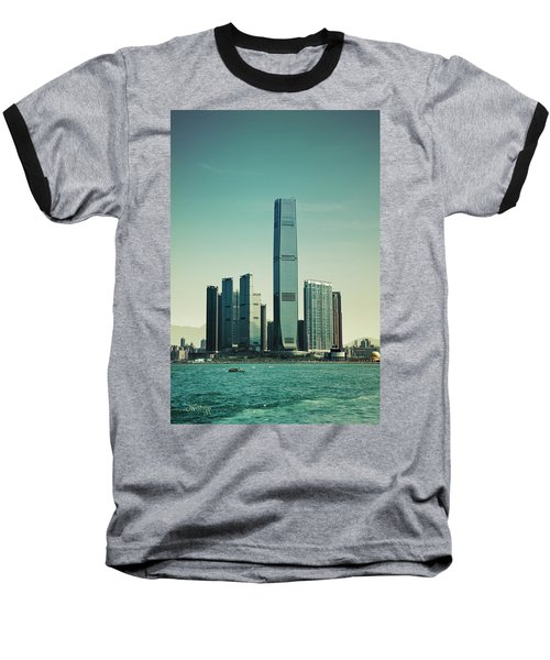 Ramparts Of Commerce Baseball T-Shirt by Joseph Westrupp