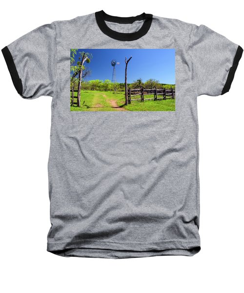 Ranch At Click Gap II Baseball T-Shirt by Greg Reed
