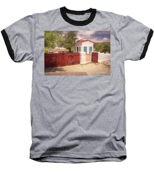 Ranch Family Homestead Baseball T-Shirt