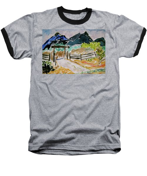 Ranch Outside Salida Baseball T-Shirt