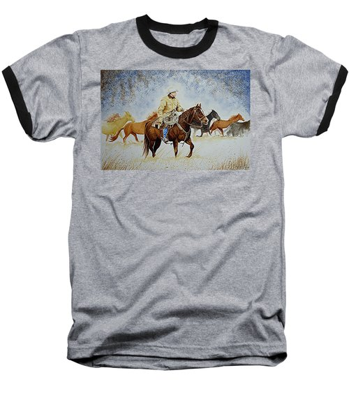 Ranch Rider Baseball T-Shirt