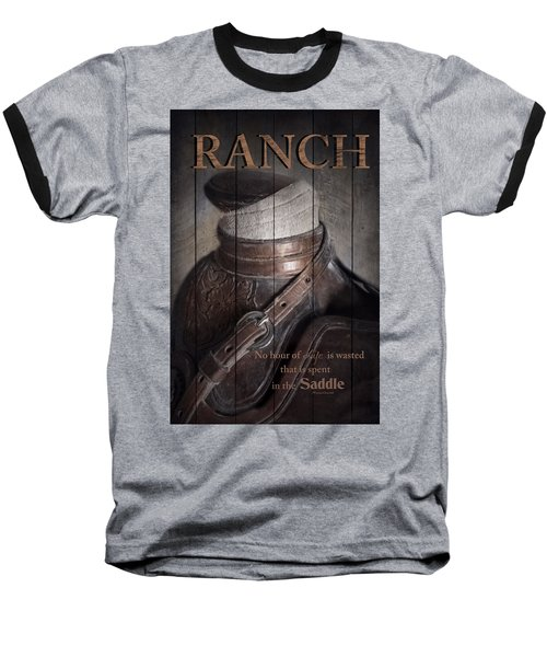 Baseball T-Shirt featuring the photograph Ranch by Robin-Lee Vieira