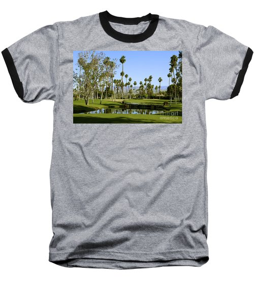 Rancho Mirage Golf Course Baseball T-Shirt