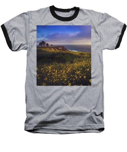 Rancho Palos Verdes Super Bloom Baseball T-Shirt