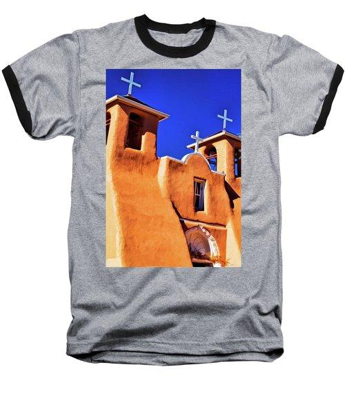 Ranchos De Taos Church Baseball T-Shirt