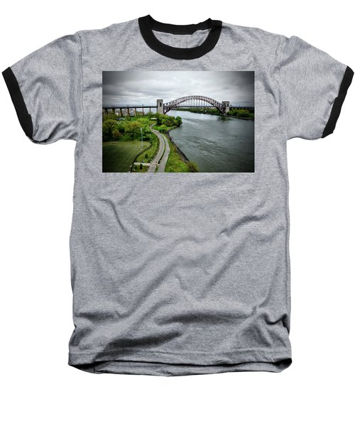 Randall's Island To Hellgate Baseball T-Shirt