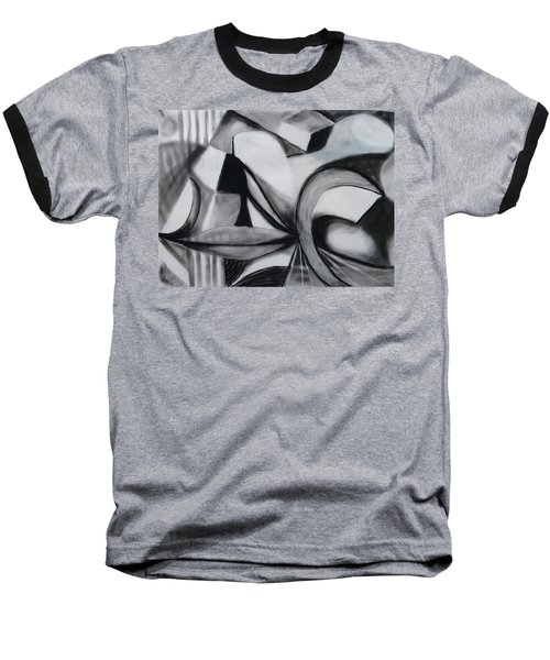 Random Shapes Baseball T-Shirt