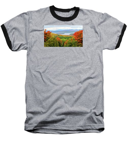 Rangeley Lake And Rangeley Plantation Baseball T-Shirt