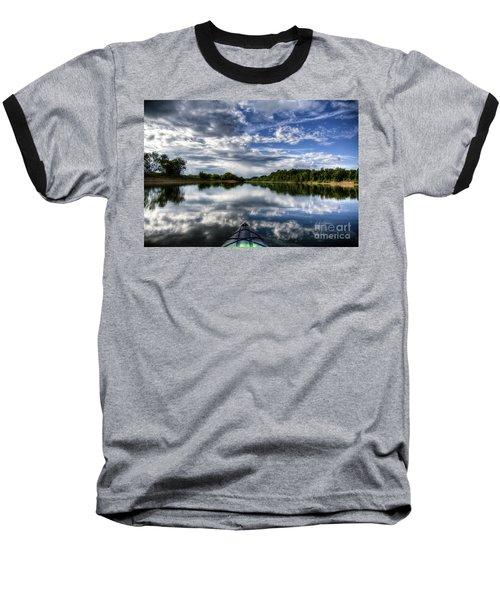 Baseball T-Shirt featuring the photograph Rankin Bottoms Hdr by Douglas Stucky