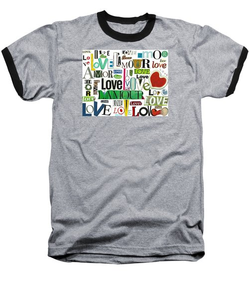 Ransom Art - Love Baseball T-Shirt