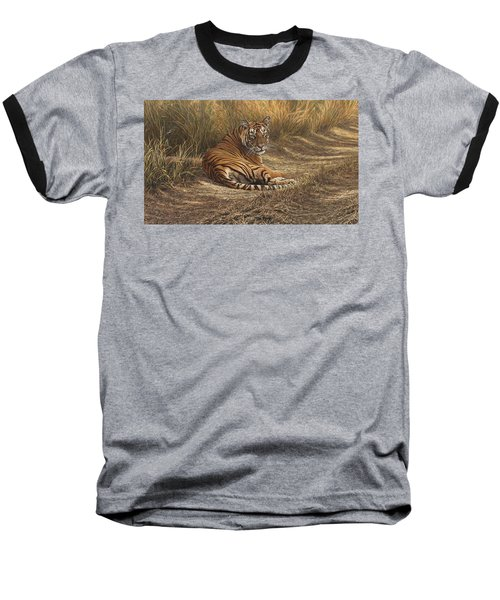 Ranthambore Roadblock Baseball T-Shirt