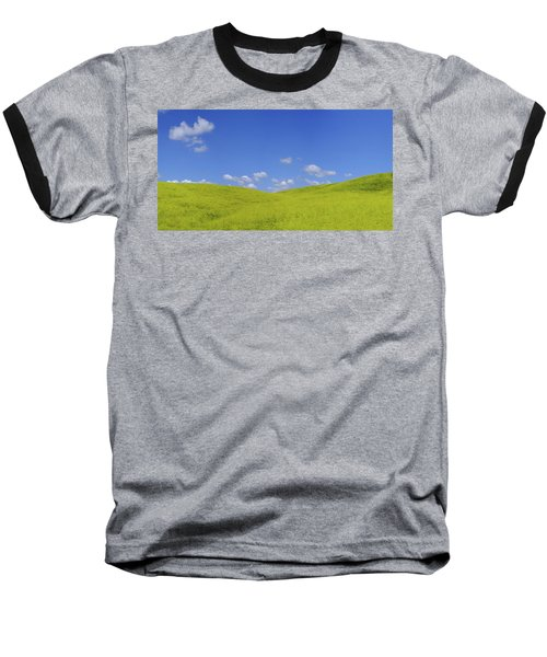 Rapeseed Landscape Baseball T-Shirt
