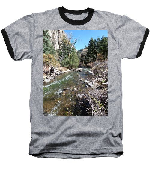 Rapid Stream Baseball T-Shirt by Constance DRESCHER