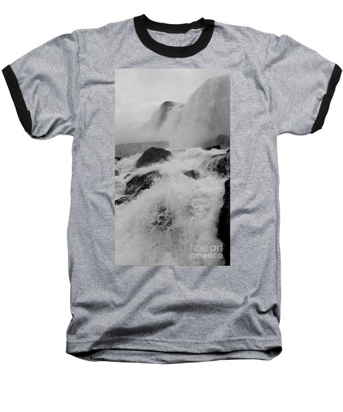 Baseball T-Shirt featuring the photograph Rapid Stream by Raymond Earley
