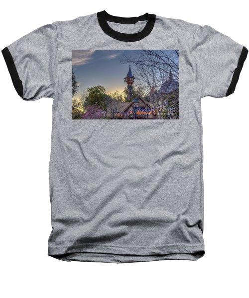 Rapunzel's Tower At Sunset Baseball T-Shirt