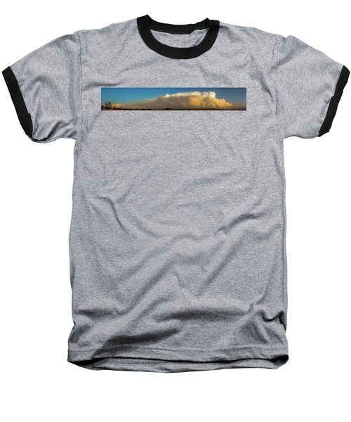 Rare Tornadic Supercells In Nebraska 005 Baseball T-Shirt