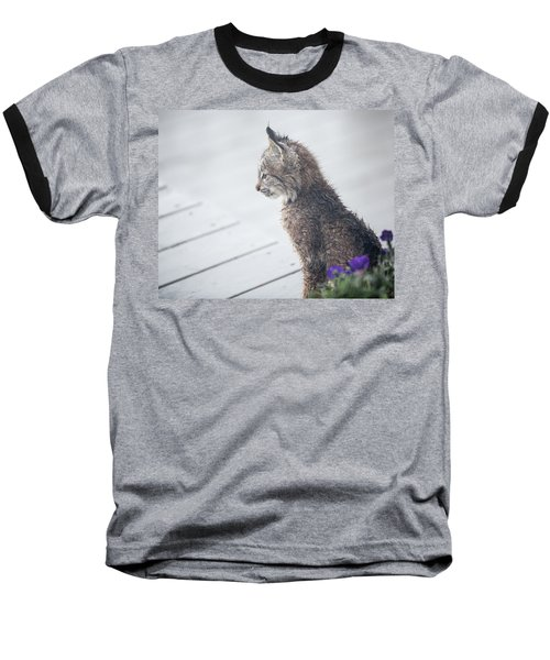 Profile In Kitten Baseball T-Shirt
