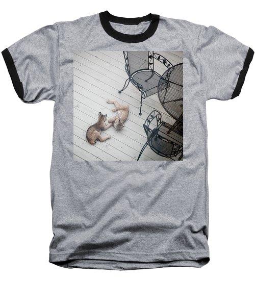 Wrestling Lynx Baseball T-Shirt