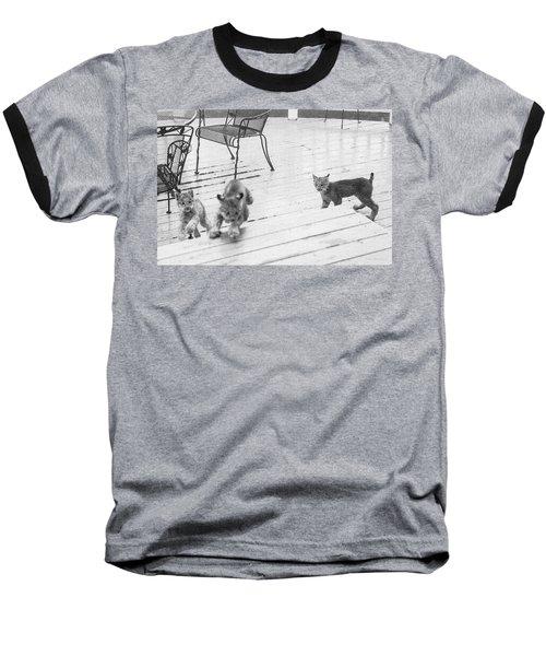 Relay Chase Baseball T-Shirt