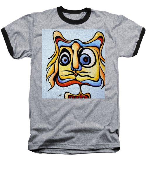 Raspberry Ralph Baseball T-Shirt
