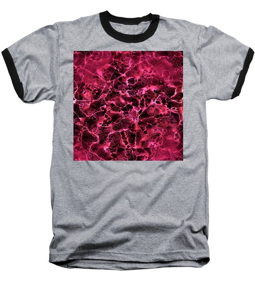 Baseball T-Shirt featuring the painting Abstract 2 by Patricia Lintner