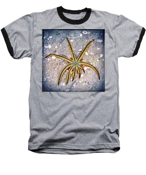 Rasta Star Baseball T-Shirt by Robert FERD Frank