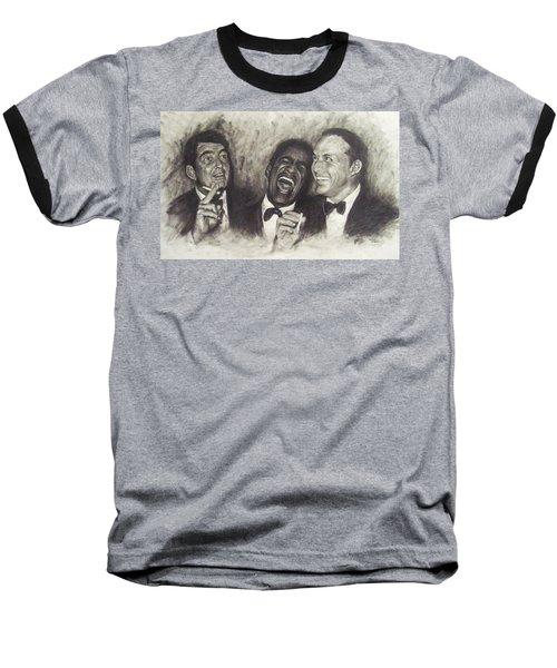 Rat Pack Baseball T-Shirt by Cynthia Campbell
