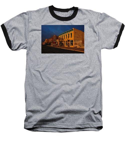 Raton Historic District Baseball T-Shirt