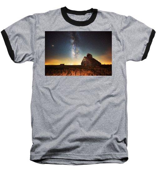 Rattlesnake Silo Barn Baseball T-Shirt