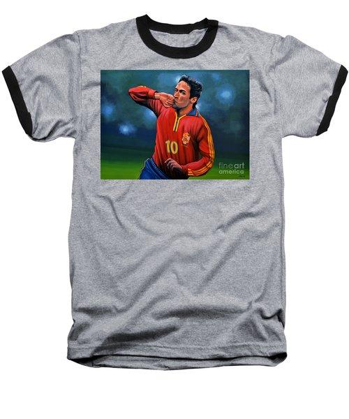 Raul Gonzalez Blanco Baseball T-Shirt by Paul Meijering