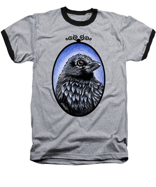 Raven Baseball T-Shirt by Kim Niles