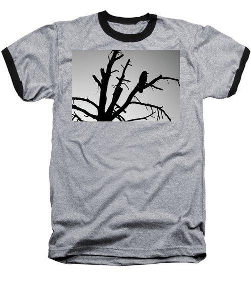 Raven Tree II Bw Baseball T-Shirt